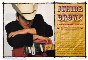 Junior Brown QampA feature